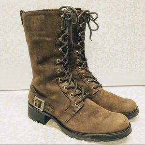 🍂🍁Timberland leather Charles Street boots 8